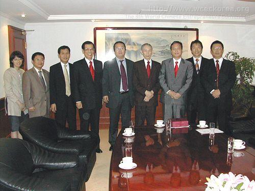 拜訪台塑集團王永慶董事長