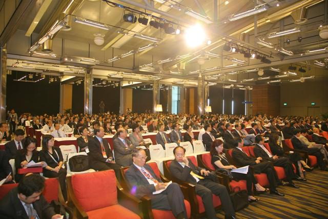 逾千人出席的第五屆世界華商高峰會